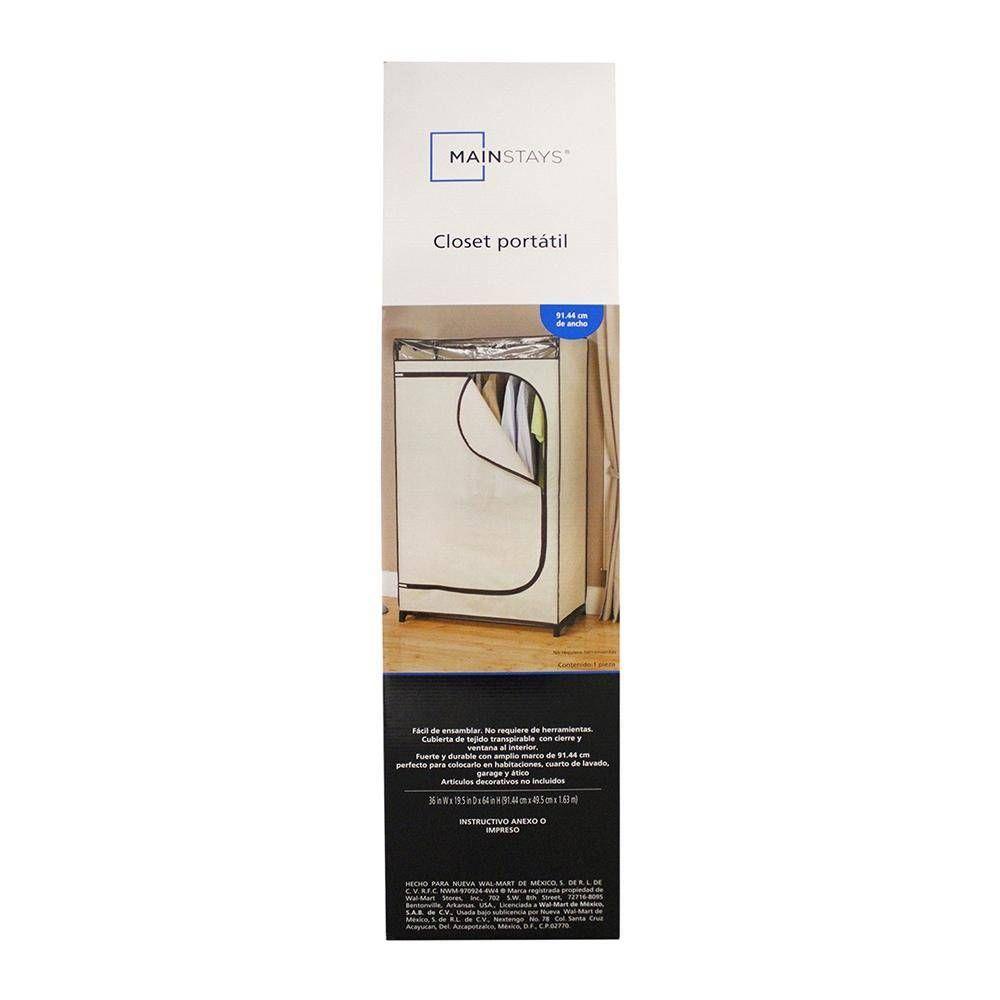 Closet Mainstays Portátil de Tela de 91.44 cm | Pinterest | Closet ...