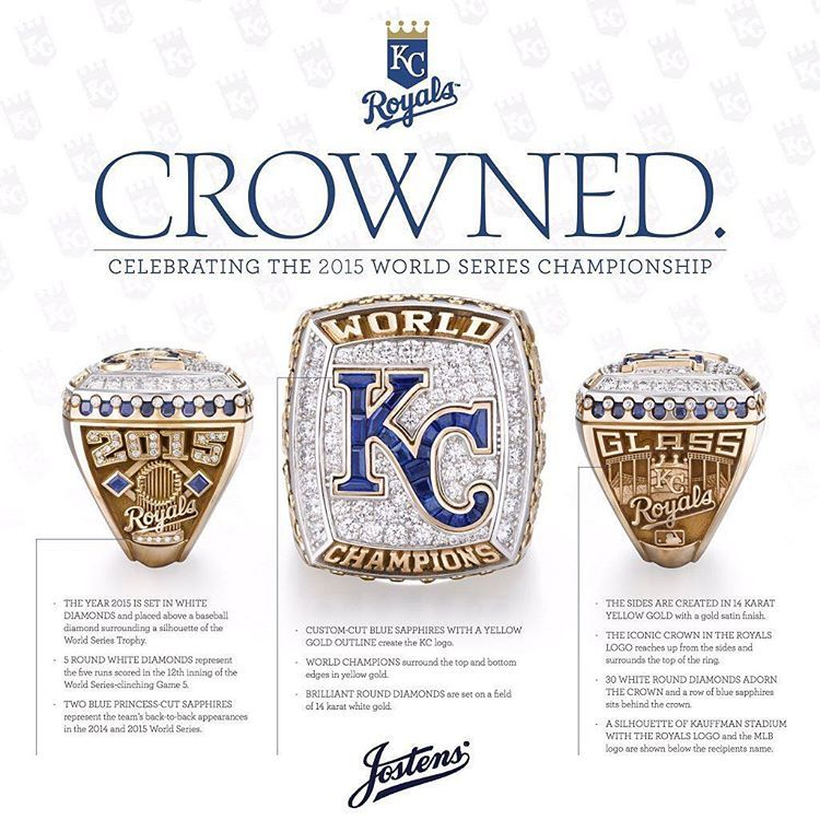 Everything You Need To Know About The 2015 World Series Champs Rings Crowned Foreverroyal Kansas City Royals Kc Royals Kansas City Royals Baseball