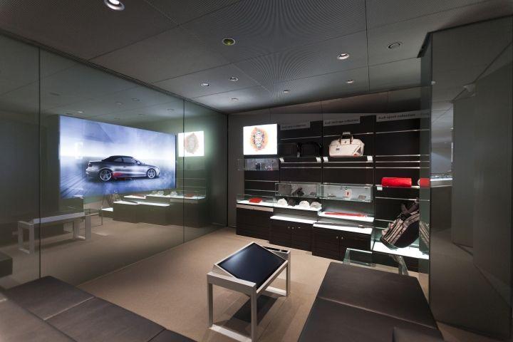 Audi City Showroom By Design4retail London Uk Store