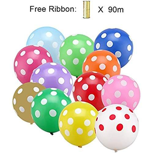PuTwo Palloncini 50pz 12 inch Lattice Balloons per piatti feste ...