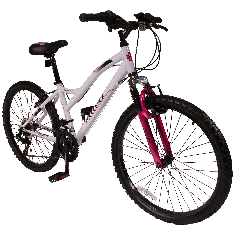 24 Inch Girls Mountain Bike White Pink Children S Bike For Boys