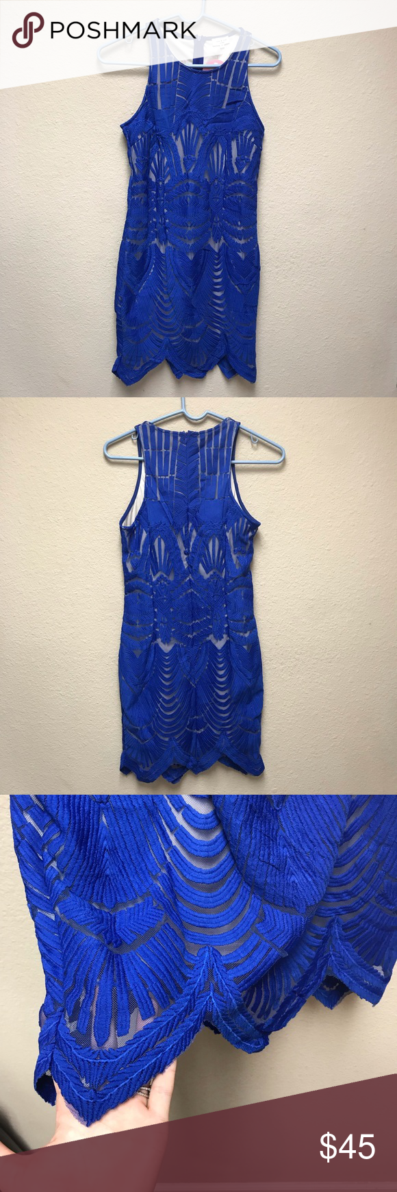 24+ Cobalt blue and cream lace dress inspirations