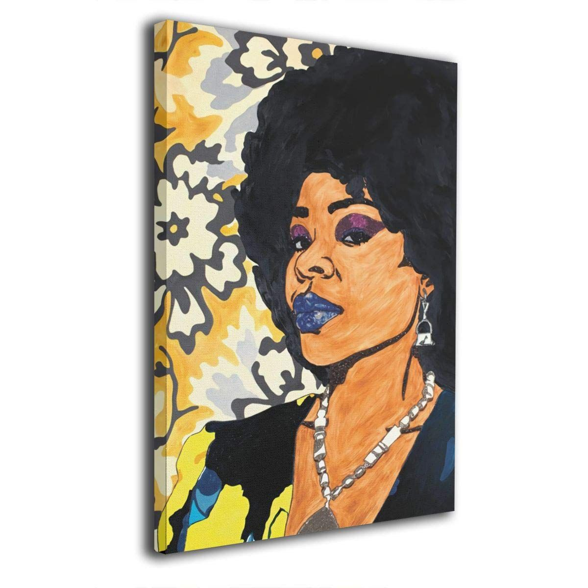 Amazon Com African American Woman 8 X12 Painting Canvas Wall Art Squidward Paintings Abstract Modern Style Art Pop Art Animals Modern Art Paintings Abstract