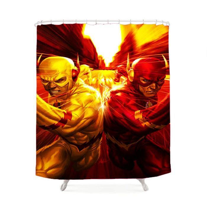 The Flash Vs Reverse Shower Curtain