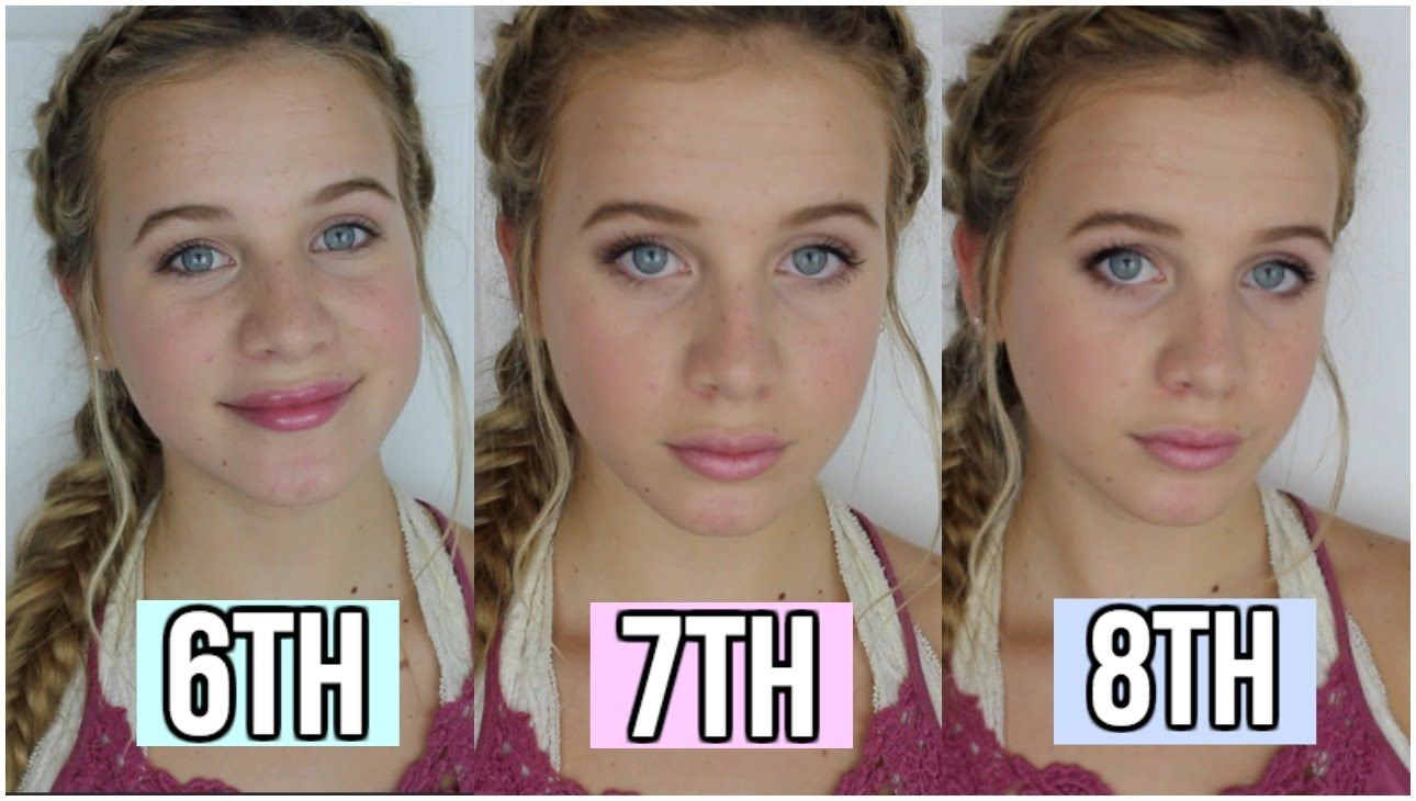 Middle School Makeup Tutorial ♡ 6th, 7th, and 8th Grade