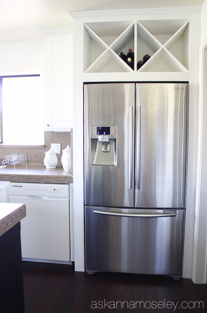 brown over fridge andcabinet in sizes storage offwhite most cabinetpth refrigerator above glaze build cabinets the plenty fancy with of off kraftmaid white bridge cabinet