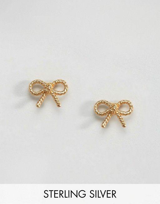 Olivia Burton Vintage Bow Earrings