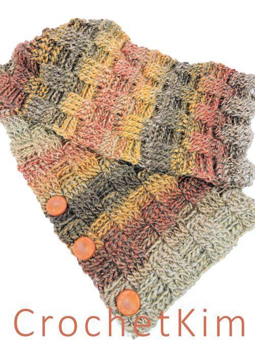 Desert Tango Neck Wrap Free Crochet Pattern   Crochet   Pinterest ...