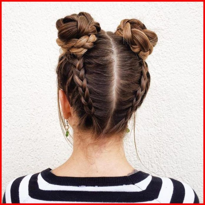 Double Dutch Fishtail Braids With Images Short Hair Model