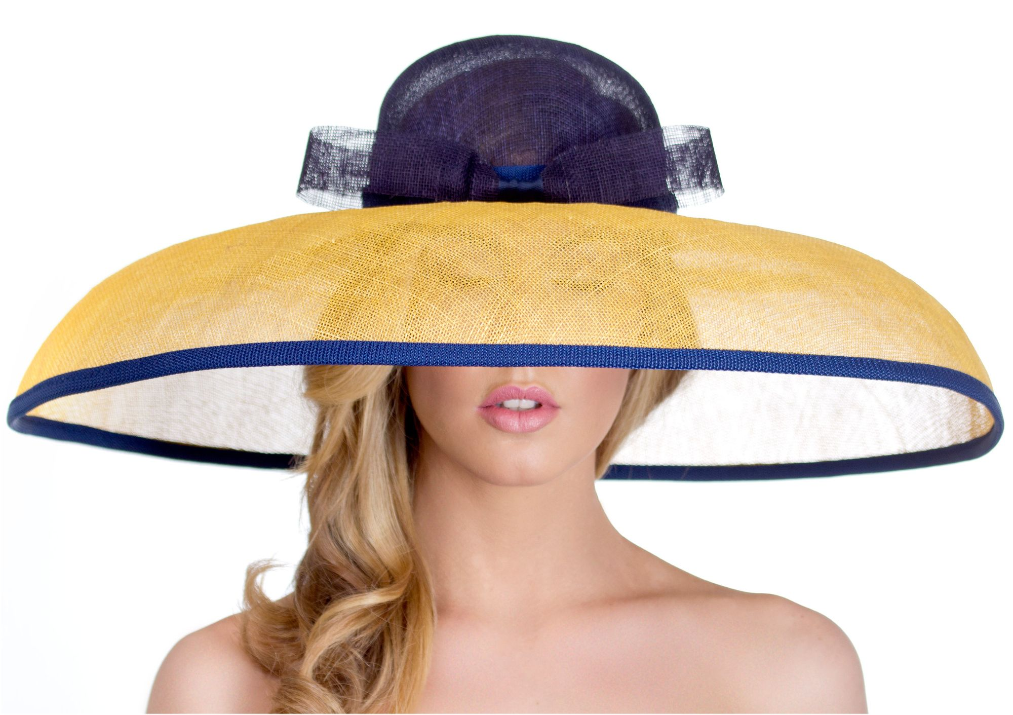 Going To Oaks Derby Looking For A One Of A Kind Custom Hat Made Just For You To Your Head Size Shape And Colo Derby Hats Derby Outfits Kentucky Derby Outfit