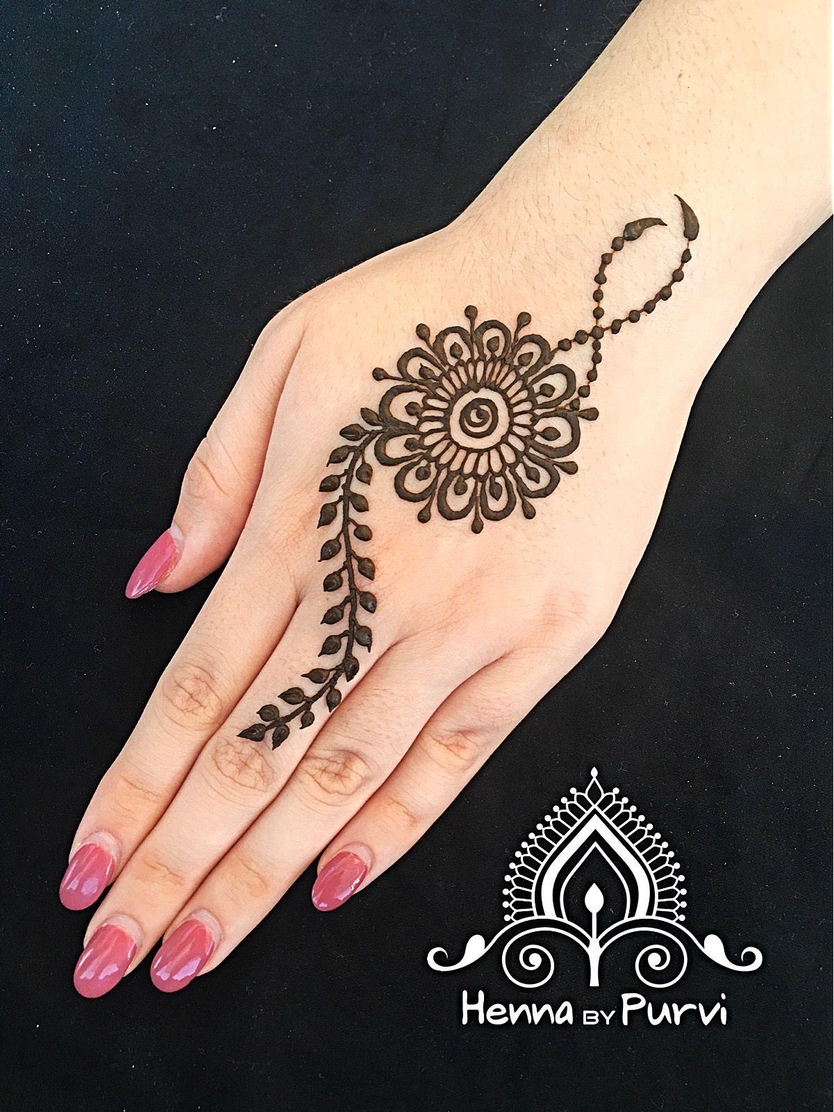 simple mehndi design please