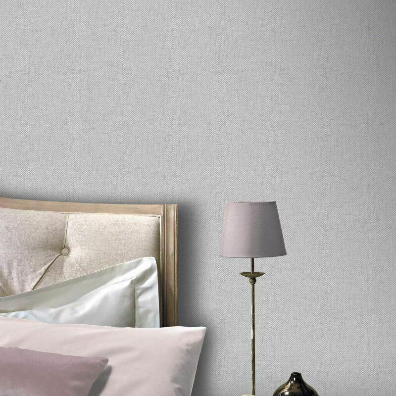 Arthouse Wallpaper Herringbone Light Grey 942406 Wonderwall By Nobletts Grey Wallpaper Contemporary Wallpaper Designs Home Art