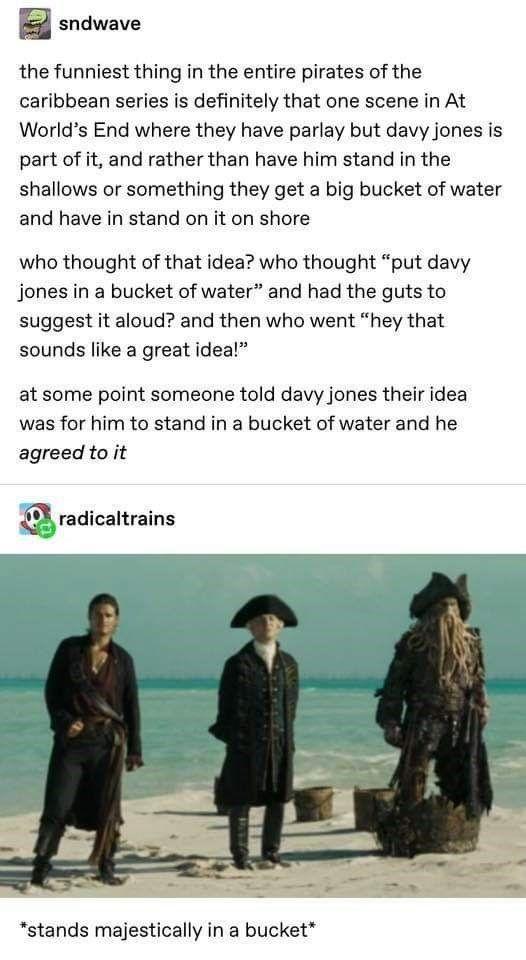 Tumblr Users Hyper Analyze Davy Jones In Pirates Of The Caribbean