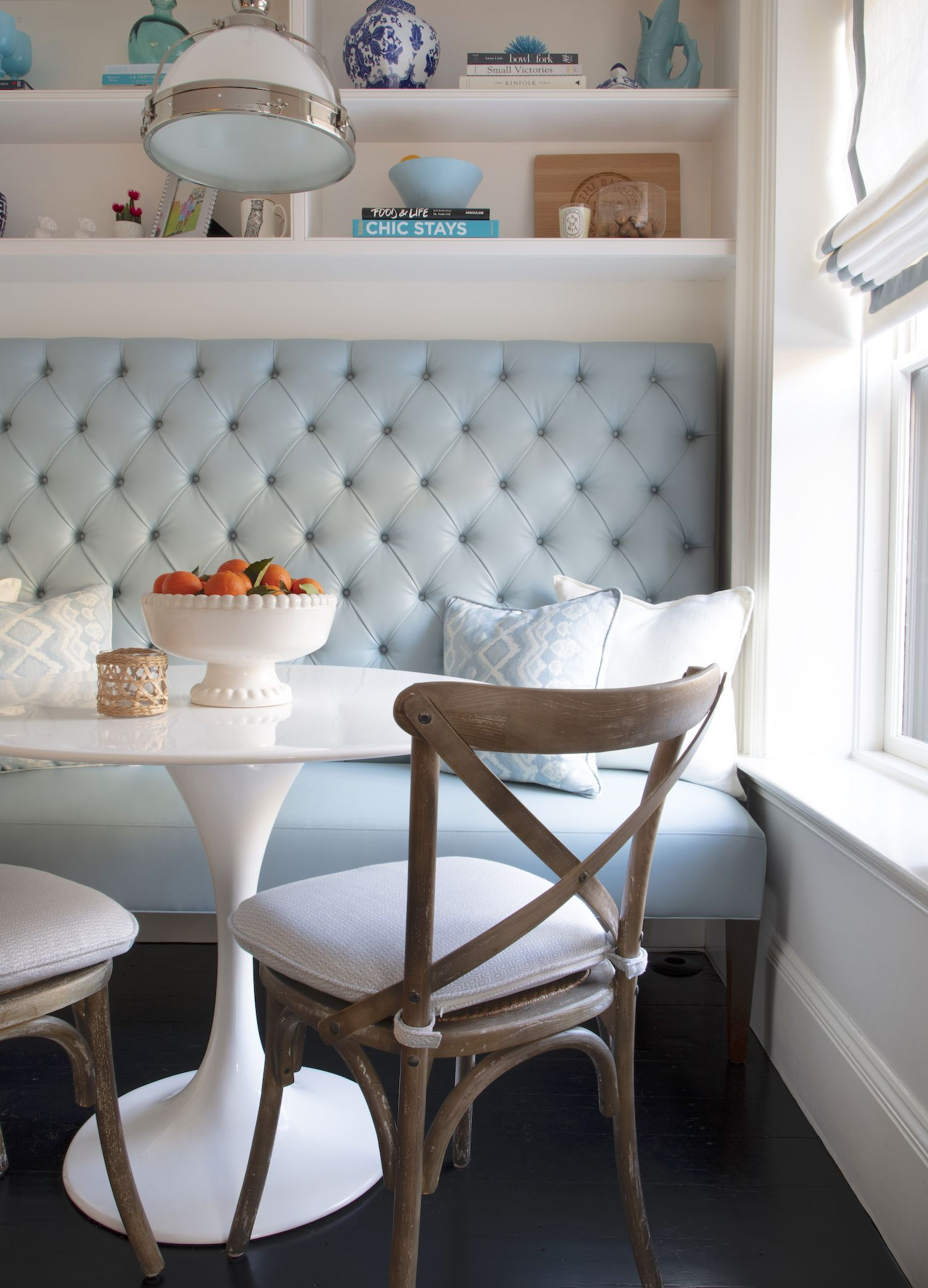 Project Reveal: A Historic South End Brownstone — Elements of Style Blog | Dining Spaces in 2019