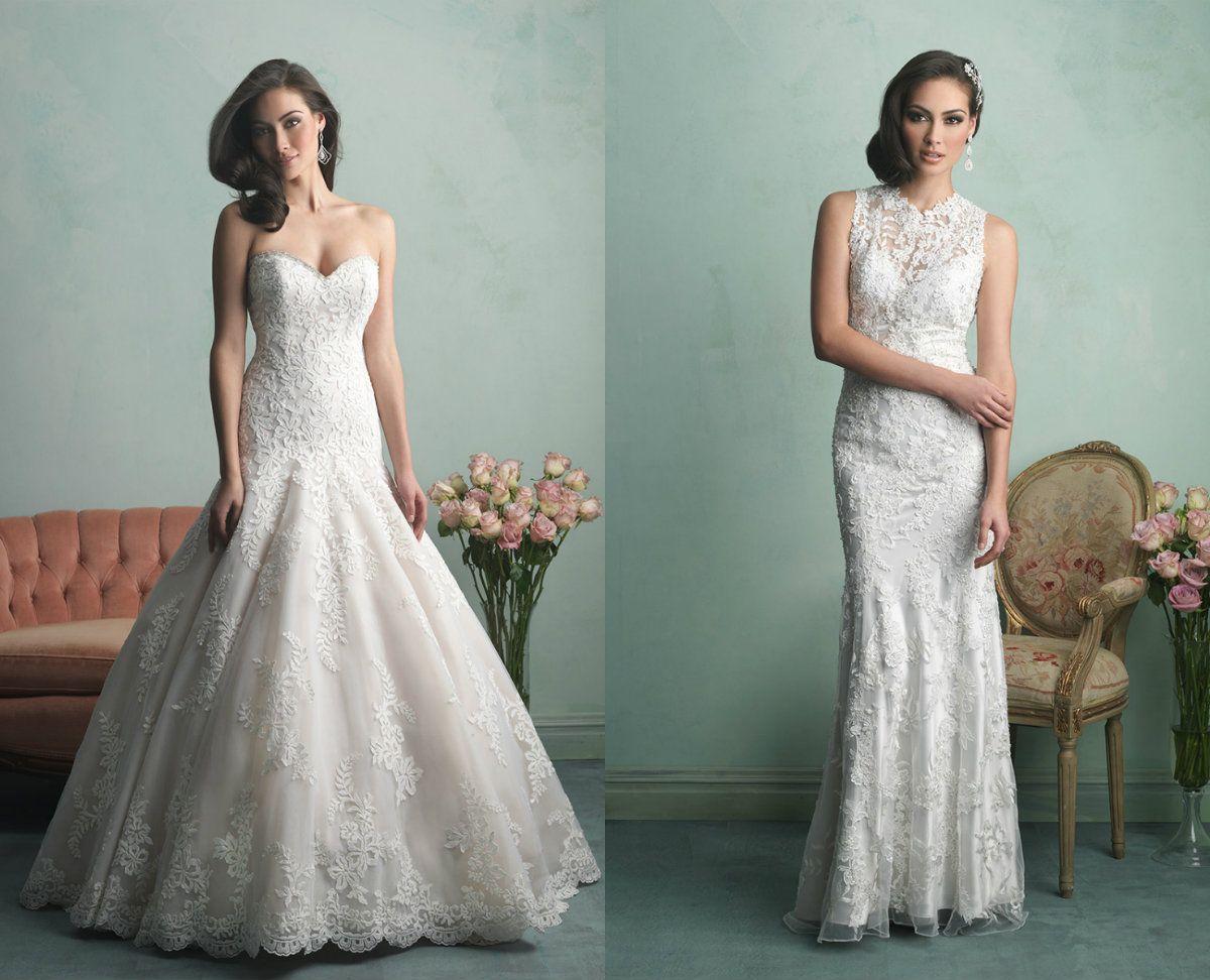 Allure wedding dress  Allure Bridals Collection  KAMzaKRÁSOU  Svadobné šaty  Wedding
