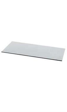 10 X 24 Inch Tempered Glass Shelf