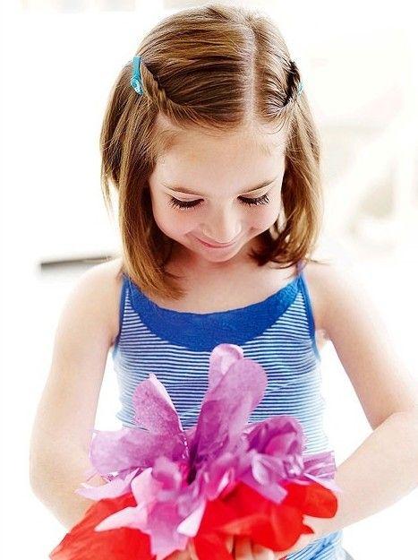 15 süße Frisuren für Mädchen - neueste Frisuren für kleine Mädchen | Trend Bob Frisuren 2019 #girlhairstyles