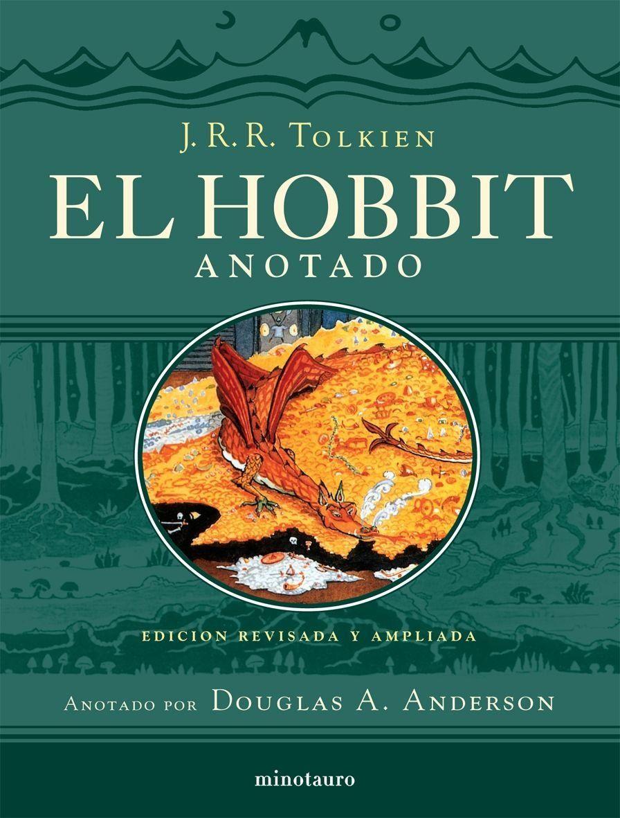 El Hobbit. Anotado e ilustrado Biblioteca J. R. R. Tolkien #Anotado, #Hobbit,  #