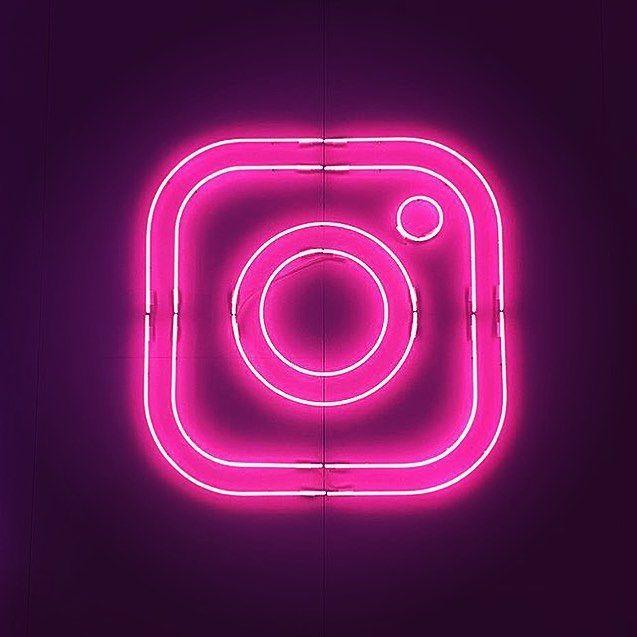 Instagram Neon Logo   Wallpaper Iphone Neon, Neon Logo
