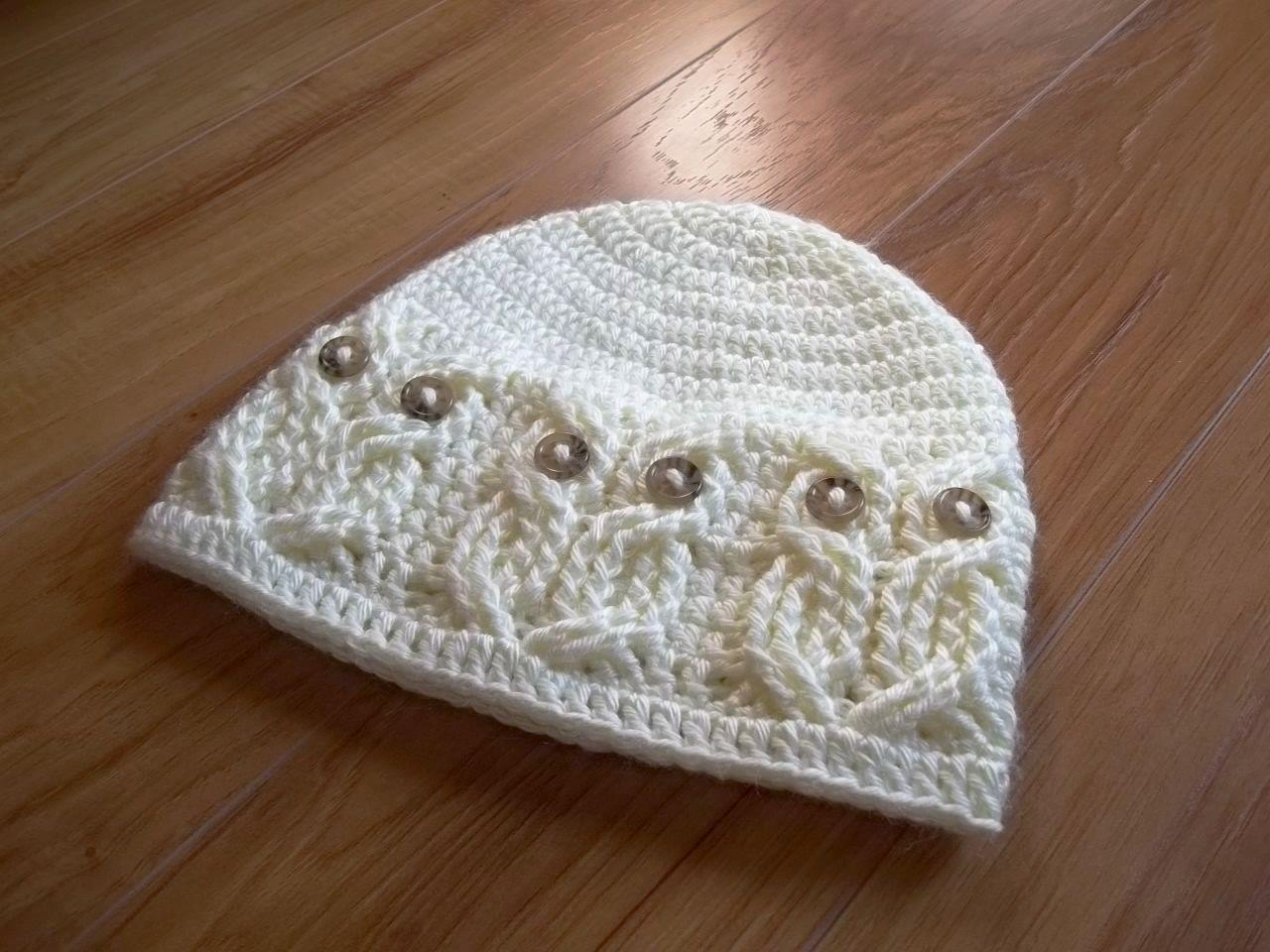 Free Baby Crochet Patterns | Crochet Cable Hat Pattern – Crochet ...