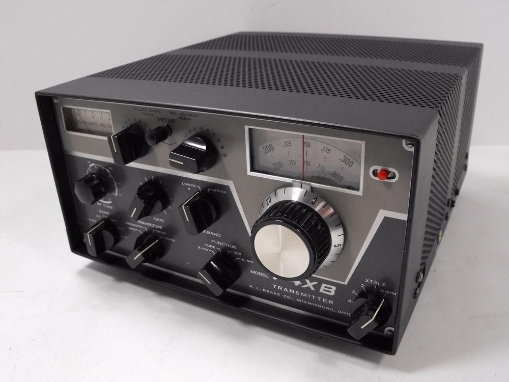 Drake T 4xb Ham Radio Cw Am Ssb Tube Transmitter Sn 18661c Clean Vintage Ham Radio Transmitter Radio