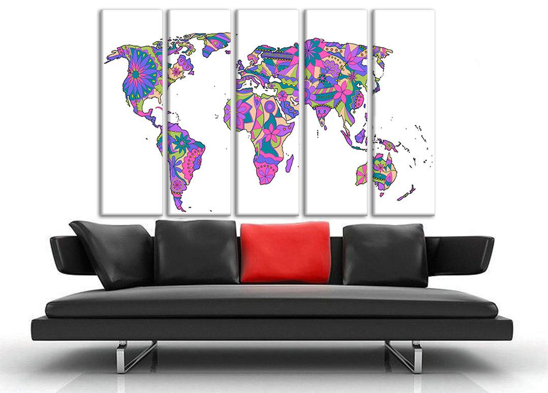 Purple map canvas abstract map canvas map of the world canvas extra purple map canvas abstract map canvas map of the world canvas extra large wall art world map wall art canvas giant wall map large wall art gumiabroncs Image collections
