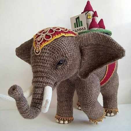 Amigurumi Elephant Patterns – Free Amigurumi Crochet #crochetelephantpattern