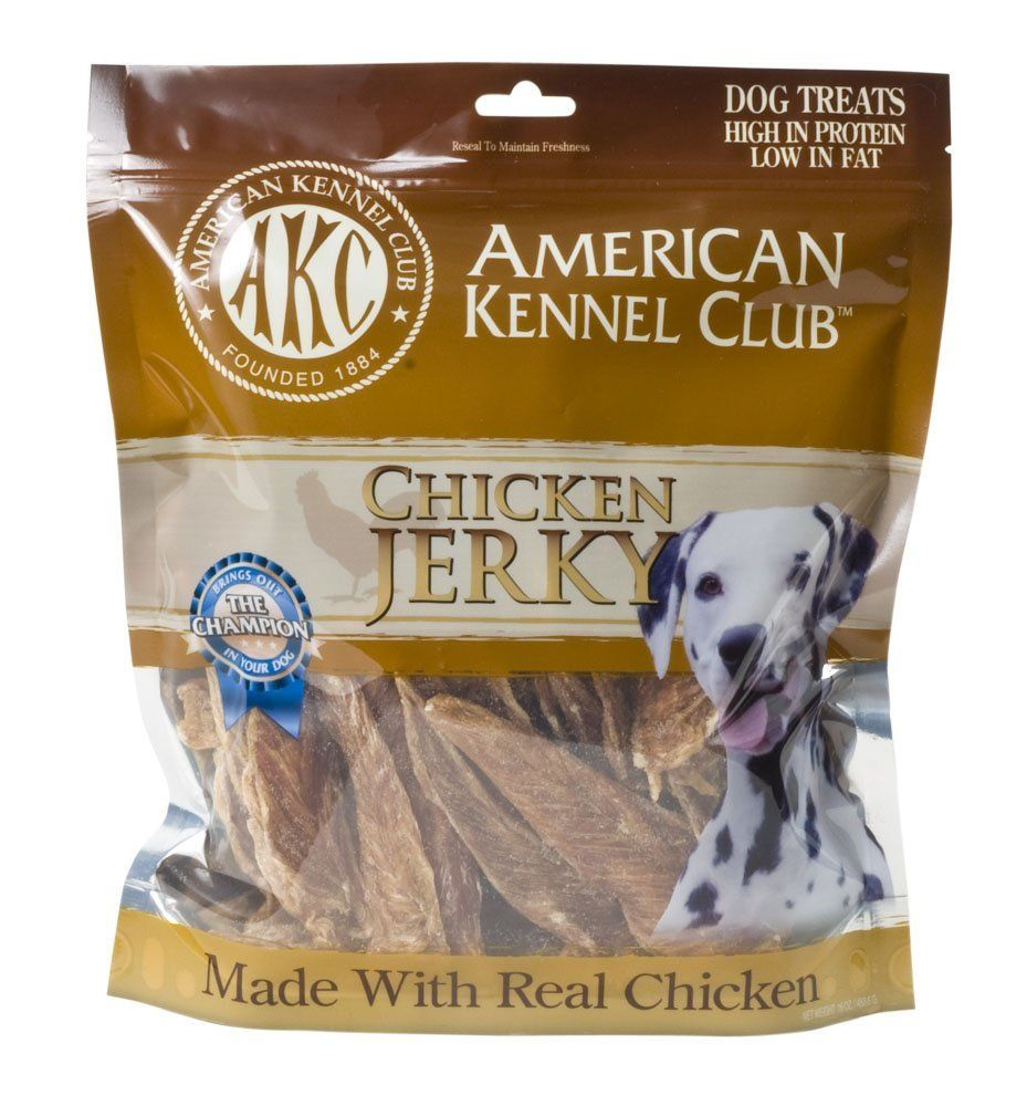 Amazon Com Akc Chicken Jerky Dog Treats 16 Ounce Pet Supplies Chicken Jerky Dog Treats Akc