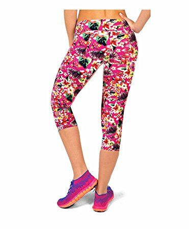 f5ec57d3581264 Amazon.com: Ancia Womens Tartan Active Workout Capri Leggings Fitted  Stretch Tights: Clothing