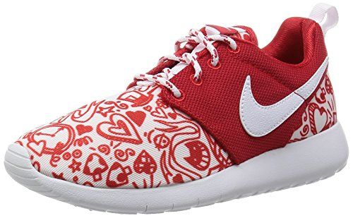 factory outlet newest 2018 sneakers Nike Kids Roshe One Print GS, UNIVERSITY RED/WHITE-BLACK,... https ...