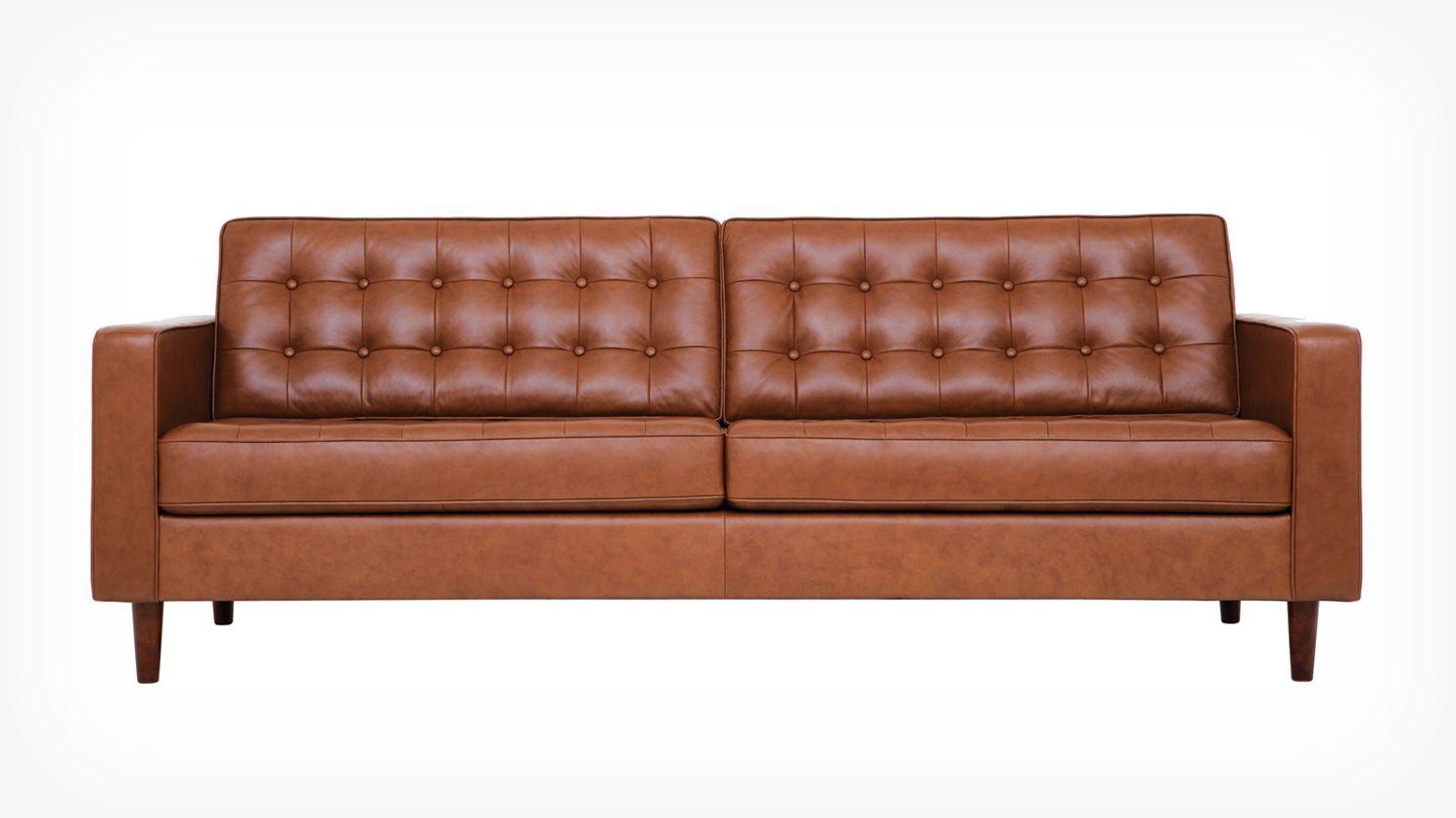 Reverie Sofa   Leather | EQ3 Modern Furniture