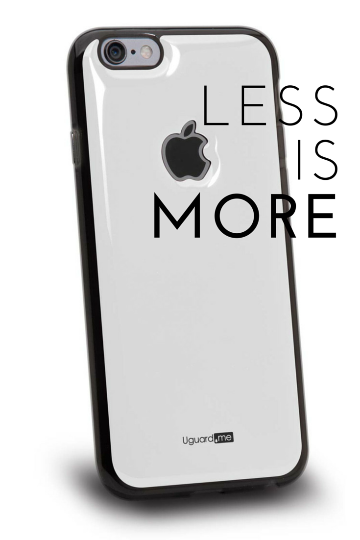 Less is More.  Antislip smart case for iPhone:  http://www.uguard.me/collections/frontpage/products/basic-white-smart-case