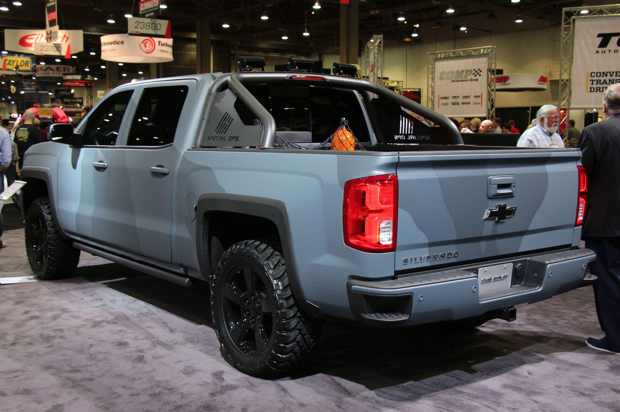 Chevrolet Silverado Special Ops Concept rear