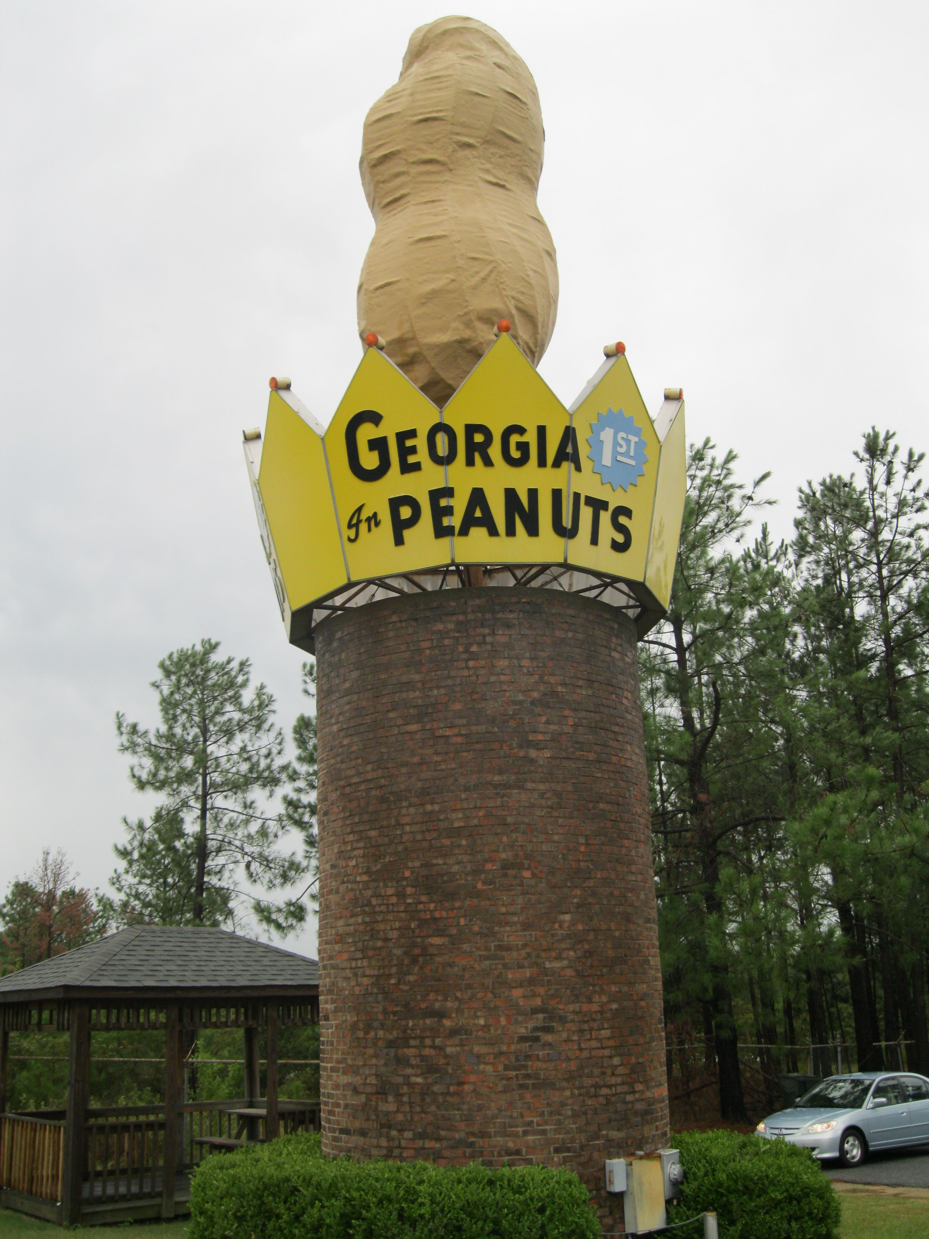 World S Largest Peanut Ashburn Ga Roadside Attractions Roadside Vintage Advertising Signs