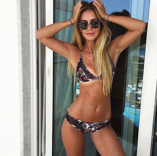 a69ea9e5e42 👙The Sunny bikini from the Jessie James Decker collection of Amore and  Sorvete