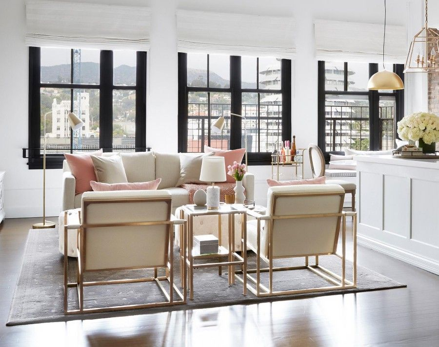 An Introduction To Glam Style Hayneedle Loft Spaces Glam Furniture Traditional Furniture Design