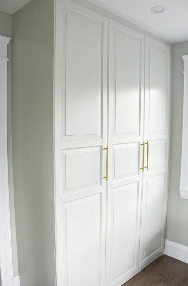 get a stunning closet with this ikea pax hack office bedroom bedroom ikea master bedroom. Black Bedroom Furniture Sets. Home Design Ideas