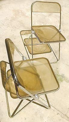 Sedie Pieghevoli Offerte Torino.Dettagli Su Sedia Plia Vintage Coppia Sedie Pieghevoli By Piretti