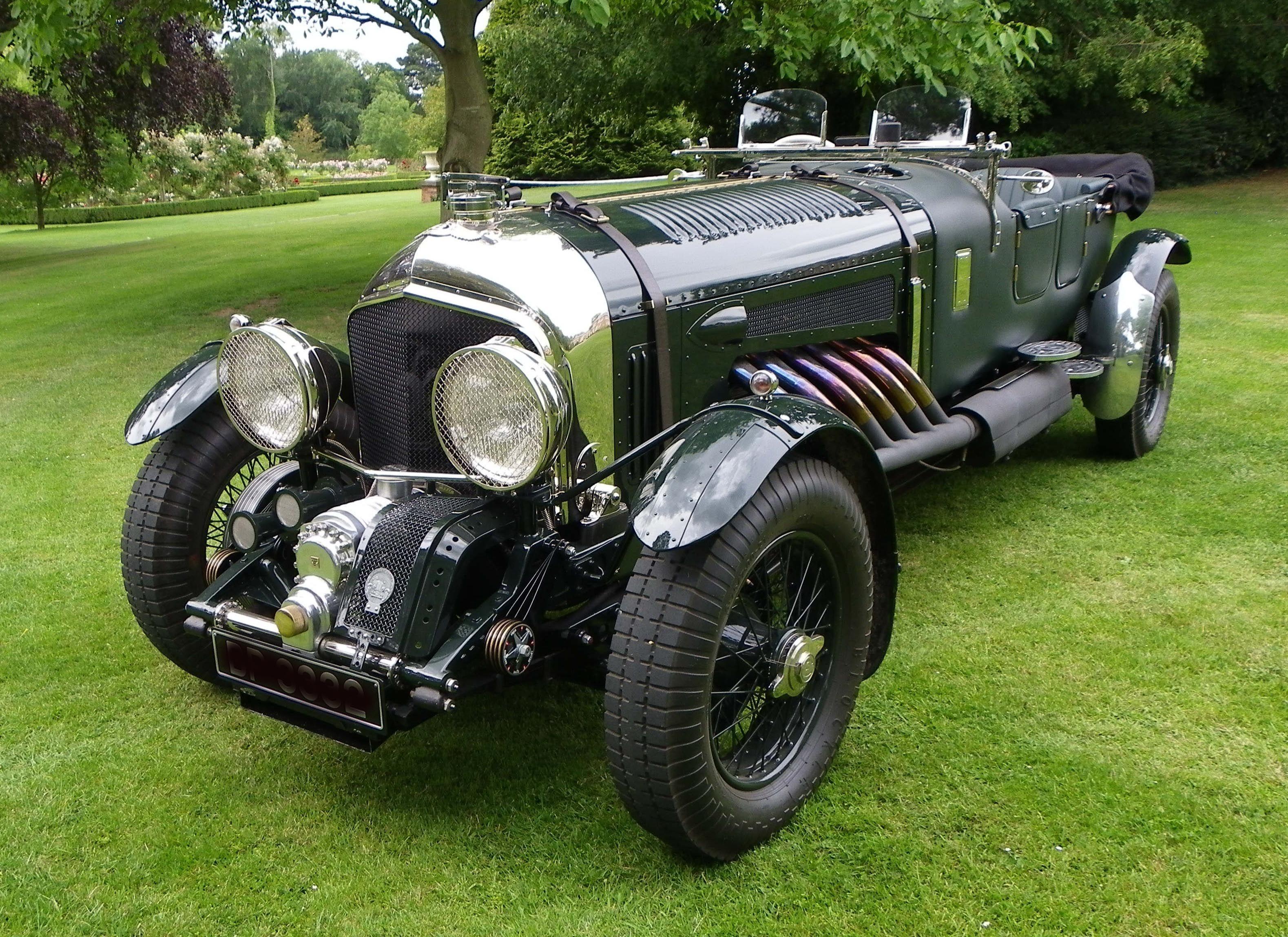 1930 Bentley Meteor 27 Litre by Bob Petersen | Loco Motions