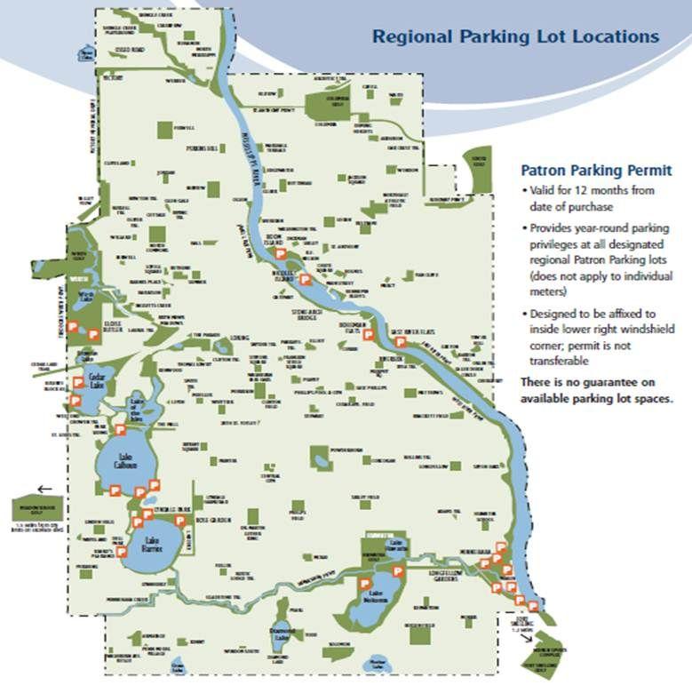 Minneapolis Parks Map walking in Minnesota Pinterest