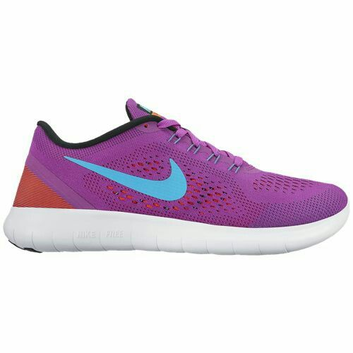 Nike Free RN Hyper Violet/Black/Total Crimson/Gamma Blue - Nike Running Shoes Authentic Online Store