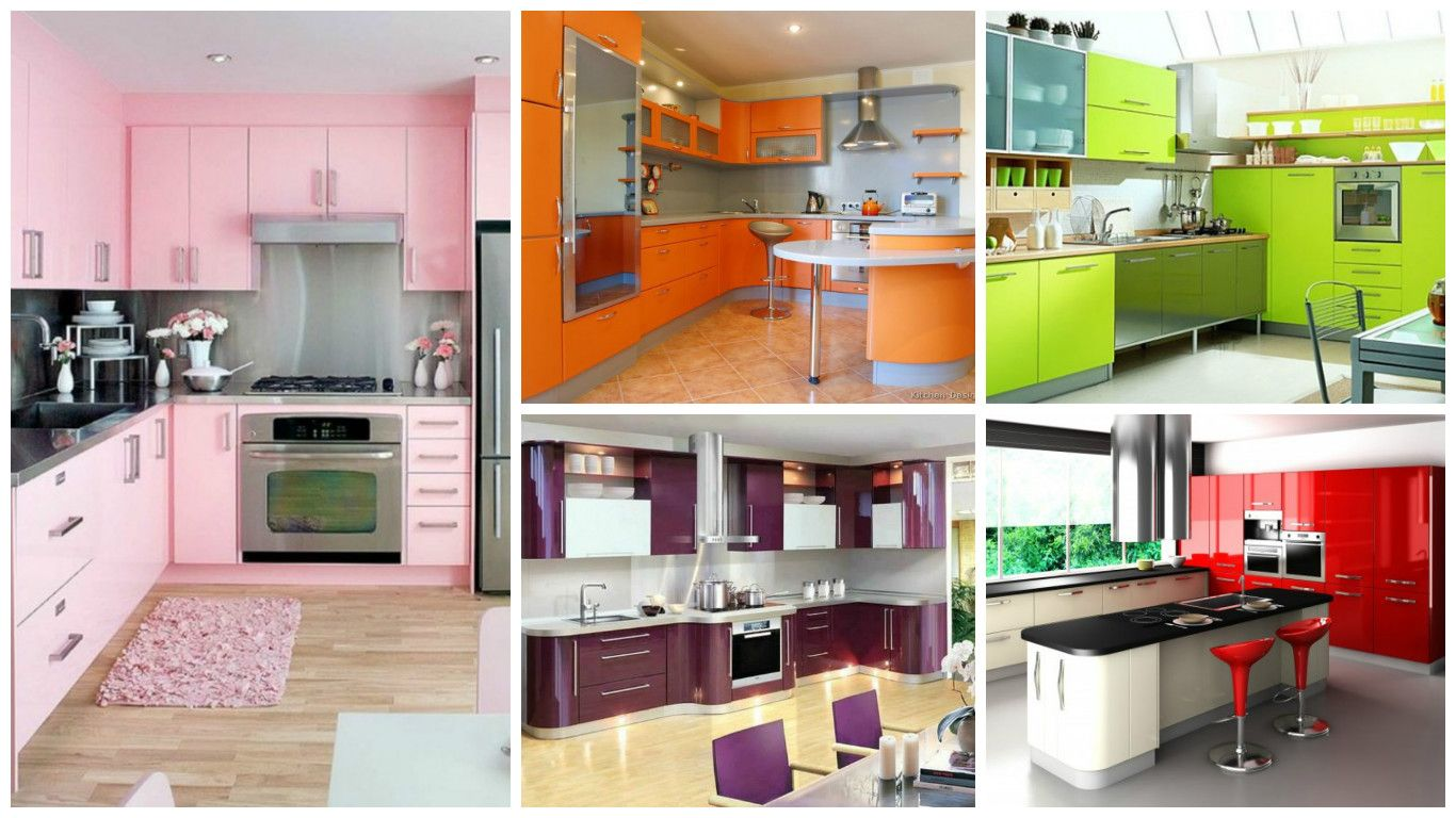3 Ideas For Modern Colorful Kitchen Décor  Colorful kitchen