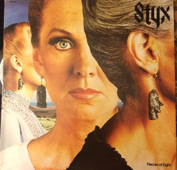 Styx Pieces Of Eight Vinyl Lp Album At Discogs Rock Album Covers Album Cover Art Album Art