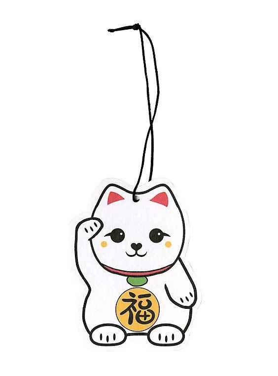 Sticker Auto Decor Ship From Japan Neko Cat Paw Kawaii Magnet Cute Car Decal