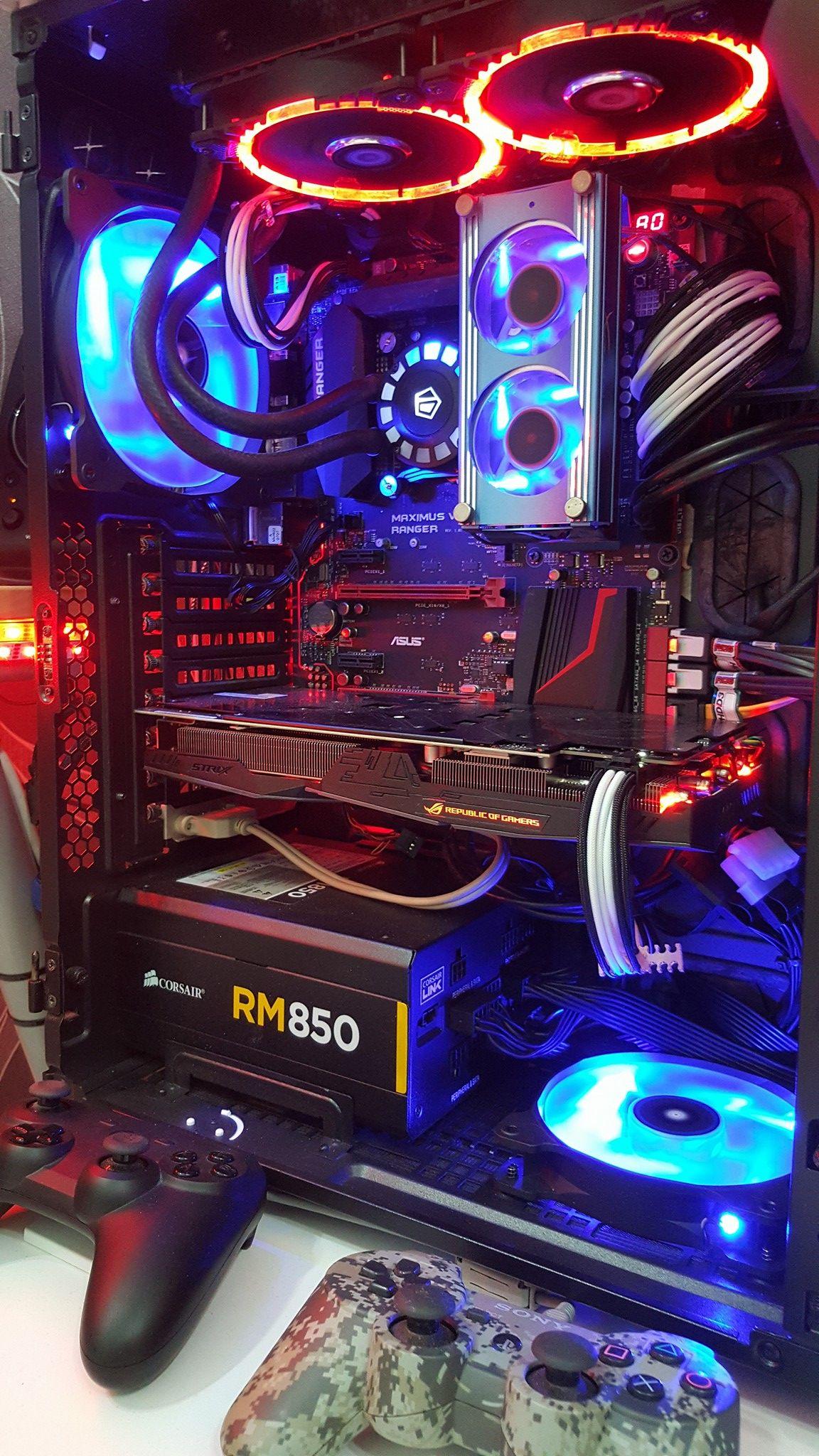 Gaming Custom Computer Custom Pc Computer Setup