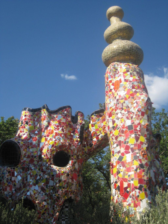 Niki De Saint Phalle S Monumental Tarot Garden Sculpture Stand