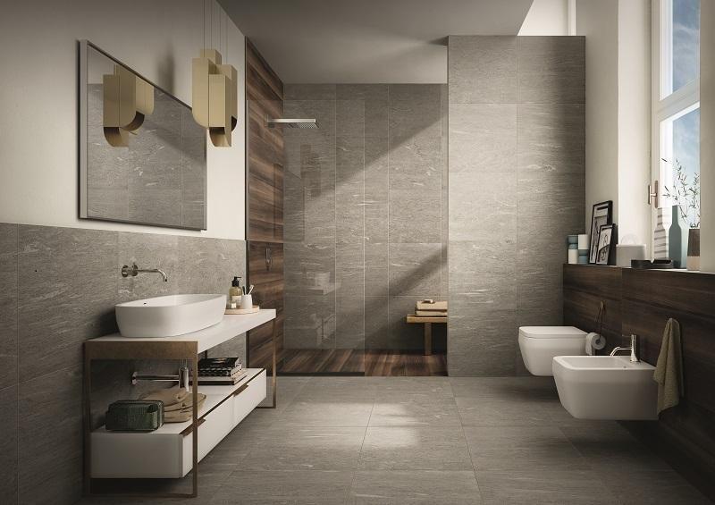Risultati immagini per piastrelle bagno gres porcellanato effetto