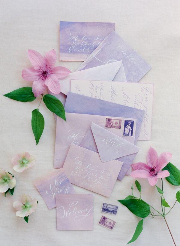 6 Fabulous Purple Wedding Invitation Ideas Invitation ideas