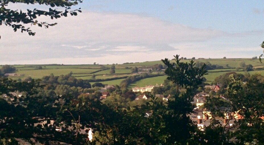 View from Castle Mound