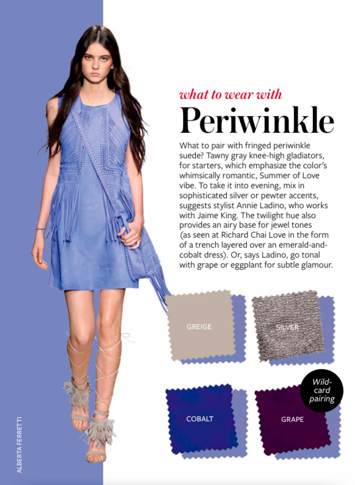 Iz October 16 Solid Periwinkle Dress Or Solid Colored Shirt Or